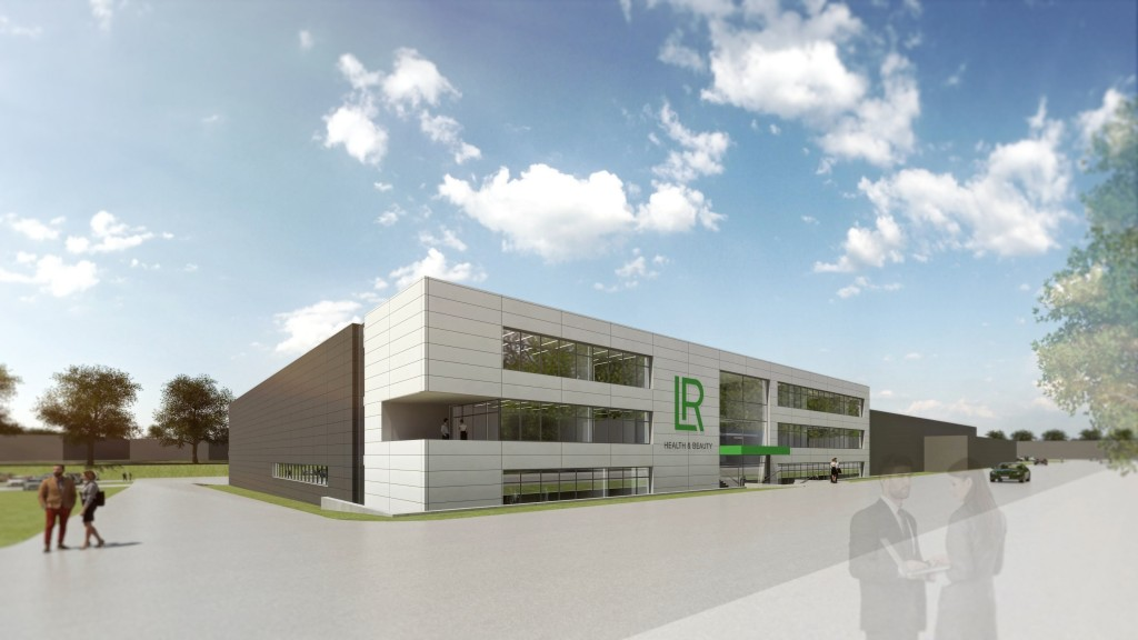 LR_Design New Aloe Vera Production Ahlen Porschestrasse Front View_Copyr...